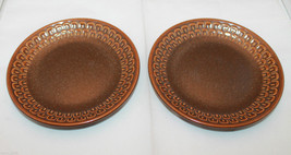 Wedgwood Set of 2  Pennine Brown Bread & Butter Side Plates Dish Made in... - $32.87