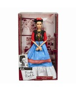 Frida Kahlo Mattel Barbie Doll Inspiring Women Series Mexican Artist Kha... - $72.25