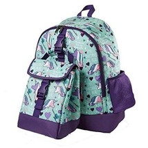 School Backpack Girls Matching Insulated Lunch Snack Bag Shoulder Carry ... - $64.63 CAD