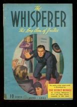 Whisperer Pulp June '41 Secret Menace Street & Smith #5 Vg - $242.50