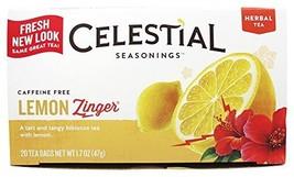 Celestial Seasonings Tea Lemon Zinger - $9.06