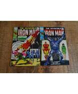 Iron Man #10 12 Mandarin Controller (Marvel Comics, 1969) Lot of 2 Silver Age - $48.37