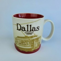 Dallas 2009 Starbucks Coffee Mug Cup Collector Series Global Icon 16 oz - $24.74