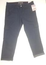 Dickies Women's Denim Cargo Capri  Blue Jeans  Stretch Slim SZ 1O - $9.99