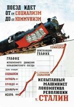 The Train Is Moving from the Socialist Station by Pavel Sokolov-Skalya - Art Pri - $19.99+