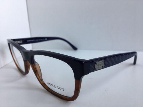 6728164e54c 3199 5118 Ambre 53mm Eyeglasses Italy · New Versace Mod. 3199 5118 Ambre  53mm Eyeglasses Italy ...