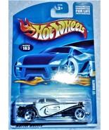 "2001 Hot Wheels Mattel Wheels ""'37 Bugatti"" #163 Mint Car On Sealed Card - £2.54 GBP"