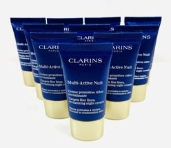 CLARINS Multi-Active Nuit Targets Fine Lines All Skin 3 oz (6x0.5) Unboxed - $21.77