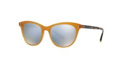 Oliver Peoples JARDINETTE SUN OV5276SU 1590/Y5 52MM amber/blue mirror Sunglasses - $147.70