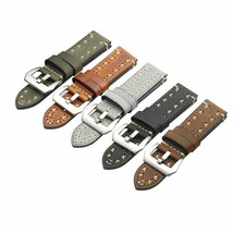 Watch Band Strap For Panerai Real Genuine Leather Replacement Belt 20/22/24/26mm - $16.14