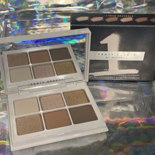NIB Fenty Beauty Snap Shadows 1 True Neutrals Gr8 For On The Go
