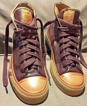 Brown Leather Vintage High Retro Top Pro Keds RII shoes Size US 9 M EUC - $23.82