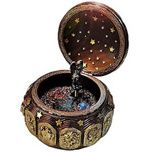 DELIWAY Mechanism Rotate Music Box with 12 Constellations and Sankyo 18-... - $42.31