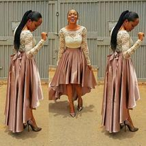 Long sleeves high low prom dresses 2017 gorgeous thumb200