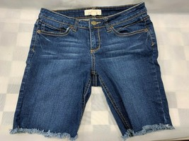 2.1 Denim Forever 21 Denim Cutoff Frayed Blue Jean Shorts Size 27 - $14.84