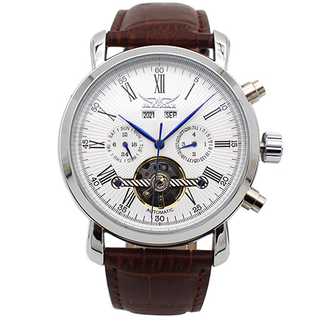JARAGAR A540 Full Calendar Automatic Mechanical Watch Business Style Men Watches