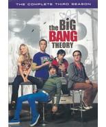The Big Bang Theory: The Complete Third Season (DVD, 2010, 3-Disc Set) - $9.90