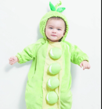 BABY INFANT PEAPOD HALLOWEEN COSTUME BABY BUNTING PLUSH Costume Size 0-6... - €16,66 EUR