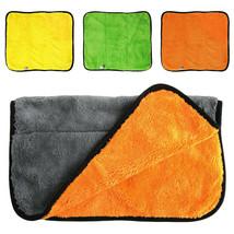Cloth Towel Drying Hemming Polishing Duster Absorbent Microfiber Car Kit... - $22.40