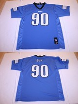 Youth Detroit Lions Ndamukong Suh XL (18/20) Jersey NFL Team Apparel - $13.09