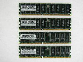 8GB 4X2GB MEMORY FOR HP WORKSTATION C8000 XW6000 XW8000 ZX2000