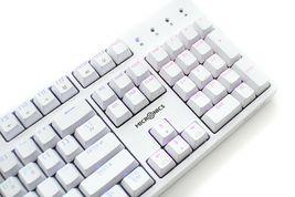 Micronics X40 Mechanical Gaming Keyboard English Korean Jixian Optical (White) image 7