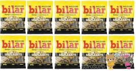 Ahlgrens Bilar Saltlakrits - Soft Chewy Cars 10 pack of 100g 1 kg Swedish Candy - $46.53