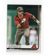 2019 Topps Base Trading Card #Nick Ahmed - $0.99