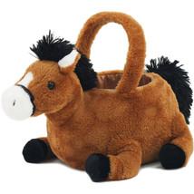 Novelty Toy Plush Easter Basket Lovely Horse Mu... - $21.90