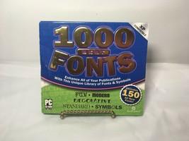 1000 Best Fonts CD by Swift Jewel, circa 2003 - $5.00