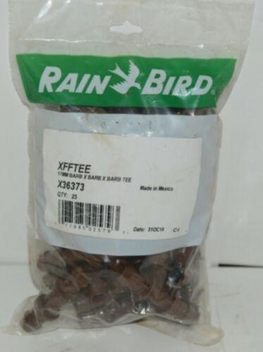 Rain Bird X36373 17 Millimeter Barb X Barb X Barb Tee Quantity 25