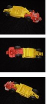 Auburn Rubber Toy Truck Vintage Made in the USA Road Grader 1950s - $26.99
