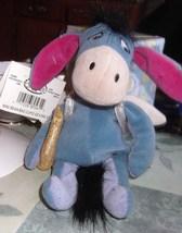 Disney Store Eeyore as Cupid Bean Bag with Tag - $14.99