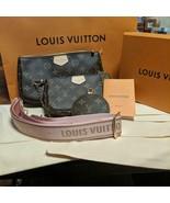 Louis Vuitton Multi Pochette Accessoir Bag Monogram Rose Pink Accessoire... - $2,762.10