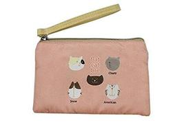Functional Retro Cellphone Bag Students' Favorited Coin Bag - Pink