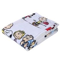 Berkshire VelvetLoft Peanuts Snoopy Cute Character Plush Bed Blanket, Pe... - £24.05 GBP