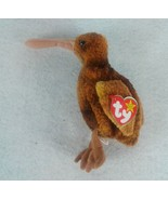 Ty Beanie Baby Beak the Kiwi Bird 1998 - $2.96