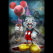 Mickey by Ceelo (20x30 giclee print on canvas) - $195.00