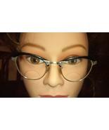 Vintage AMERICAN OPTICAL 12kt Gold Filled 5 1/2 eyeglasses Mid Century T... - $46.74
