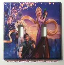Rapunzel and Flynn Light Switch Power Duplex Outlet wall Cover Plate home decor image 5