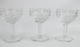 Vintage Fostoria American Clear (Stem 2056) Champagne/Tall Sherbet Glass... - $13.00
