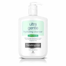 Neutrogena Ultra Gentle Hydrating Daily Facial Cleanser for Sensitive Sk... - $12.05