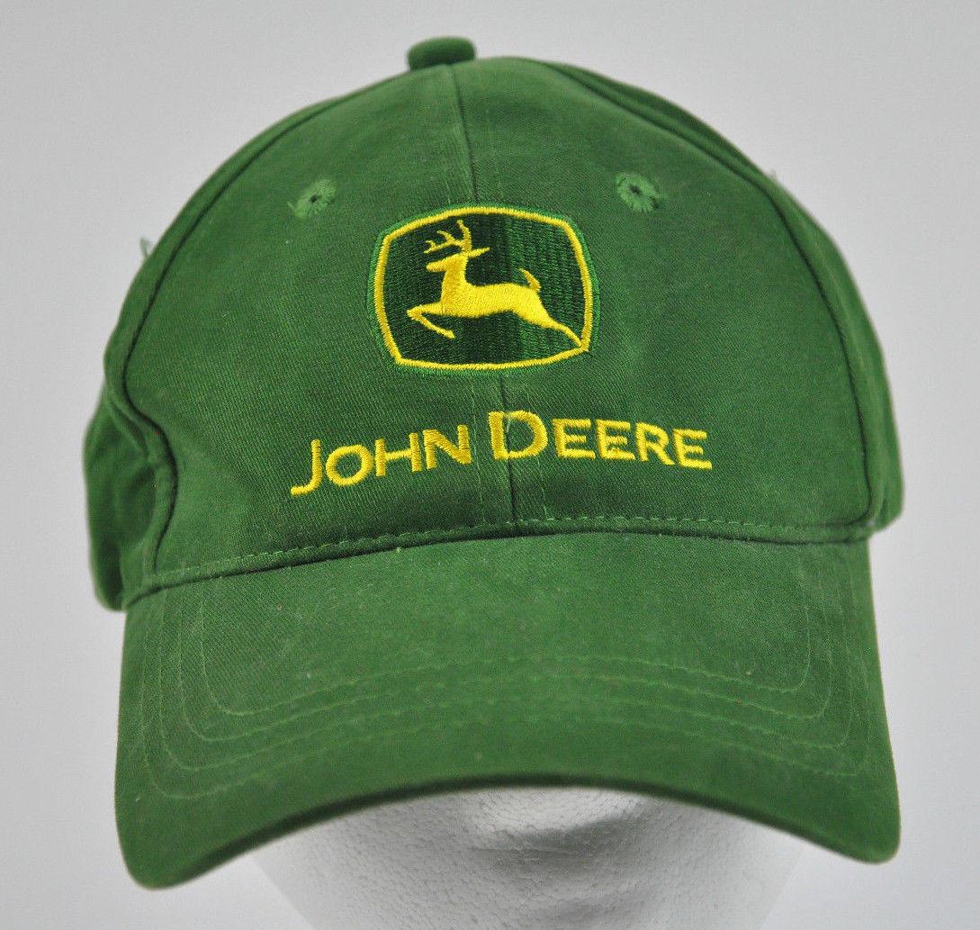 a29ad6ff3f310 Mens Green Yellow John Deere Strapback Cap and 42 similar items. S l1600