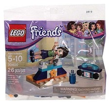 Lego Friends Gymnastic Set #30400 - 26 Pieces - Bagged - FREE SHIPPING! - $9.99