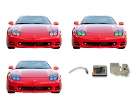 for Mitsubishi 3000GT 94-98 RGB Multi Color IR LED Halo kit for Headlights - $137.91