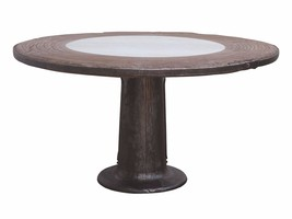 Round reclaimed Industrial Table - $1,806.75