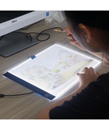 LED USB Drawing Board Ultra A4 Drawing Tablet Pad Sketch Table Lighted C... - $32.71