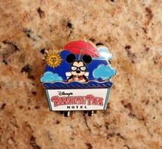 Disneyland Disney DLR Paradise Pier Hotel Mickey Mouse Pin 2014 Hinged pin - $11.73