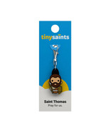 Tiny Saints Saint Thomas CHARM -Paracords, Bracelets, Backpacks, Gifts, NEW - $9.31