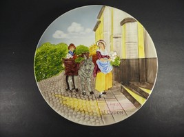 """Vintage CRIES OF LONDON 12½"""" Wall Hanging German Pottery Relief Plate - $18.00"""